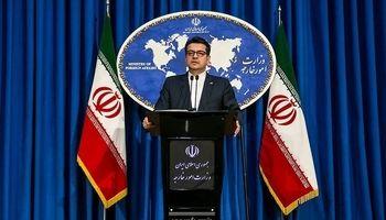 موسوی: ارتباطی میان توقیف دو کشتی انگلیسی و ایرانی وجود ندارد +فیلم
