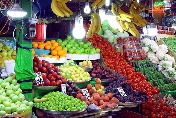 قیمت عمده فروشی انواع میوه و تره بار +جدول