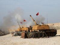 شلیک توپخانه ارتش ترکیه به سمت ارتش سوریه