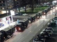 انتقال اجساد بیماران کرونا با خودرو نظامی +عکس