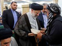 رییس قوه قضاییه در میان روحانیان کرد +تصاویر