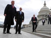 دعوای جدید ترامپ با نمایندگان کنگره آمریکا +تصاویر