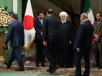 نشست خبری رئیس جمهور با نخست وزیر ژاپن +فیلم