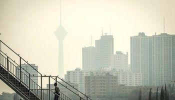 تهرانیها نیمی از روزهای آذر هوای ناسالم تنفس کردند