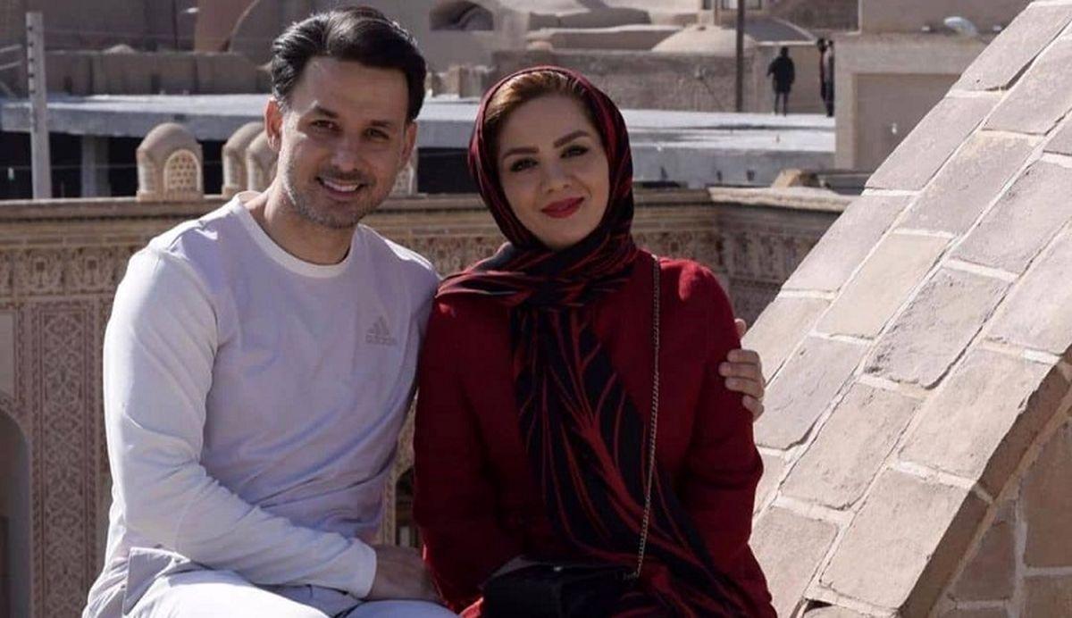ازدواج دو مجری صدا و سیما +عکس