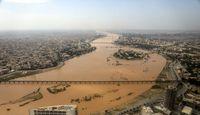 رودخانههای دز و کرخه به هم پیوستند