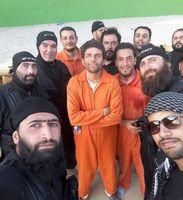 داعش در پشت صحنه فیلم ایرانی! +عکس