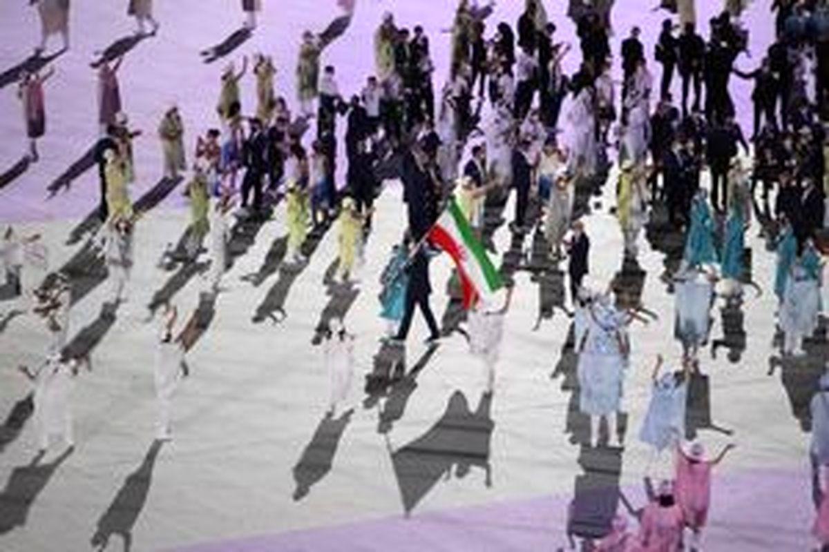 امیرحسین زارع پرچمدار ایران در اختتامیه المپیک ۲۰۲۰ شد