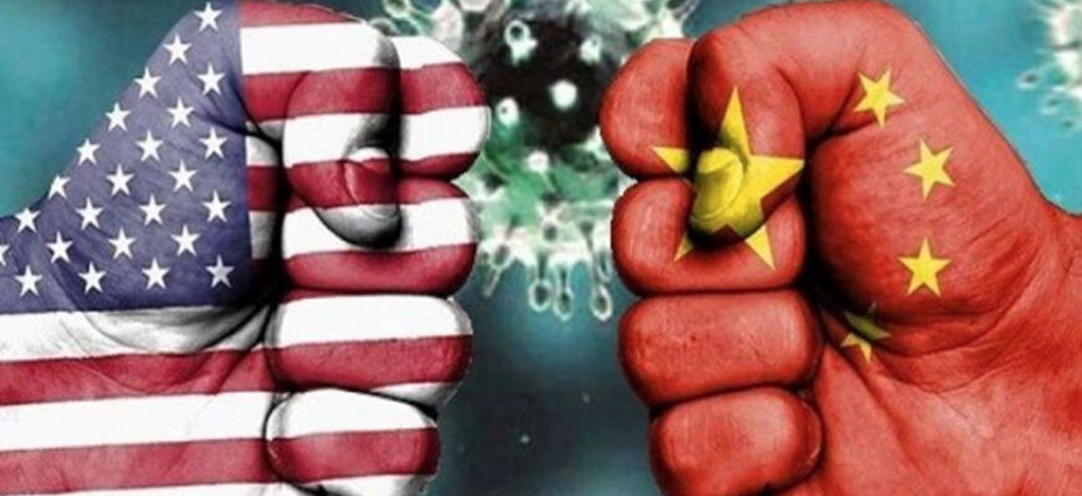 جنگ دیپلماتیک چین و آمریکا بر سر کرونا