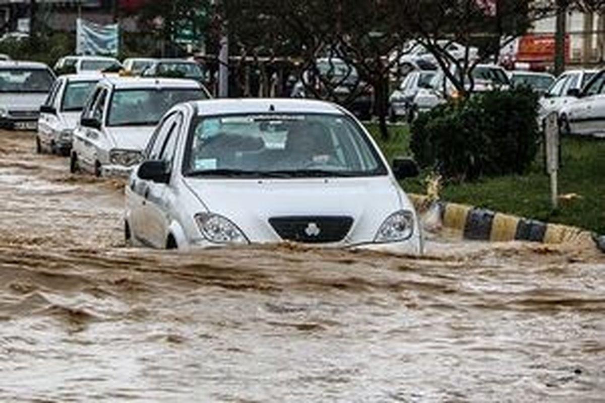 بارشهای سیل آسا تاکنون بدون خسارت