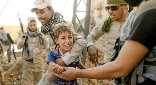 سربازگیری داعش از بین پسران ۹ ساله