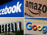 سقوط بیسابقه ارزش سهام 4غول دیجیتالی