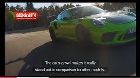 تست خودرو پورشه 911 GT318 +فیلم