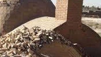 تخریب شبانه یک اثر ملی در گرمسار