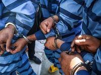 دستگیری دزدان ریل راهآهن در اصفهان