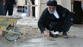تصویری متفاوت از یک امام جمعه +عکس