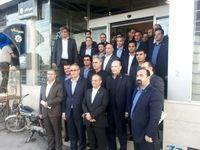 بازدید مدیرعامل بانک توسعه تعاون از طرحهای اقتصادی استان اصفهان