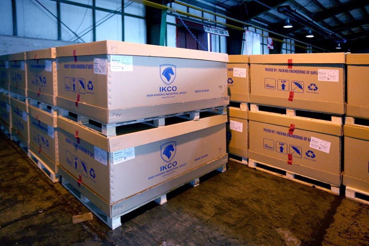 دو میلیون و ۷۰۰هزار یورو صرفه جویی ارزی در حمل و نقل بین المللی قطعات