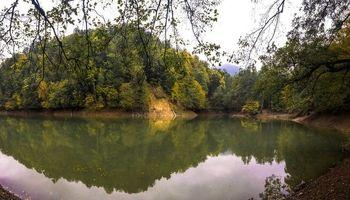 این دریاچه زیبا بعد از یک زلزله ایجاد شد +تصاویر