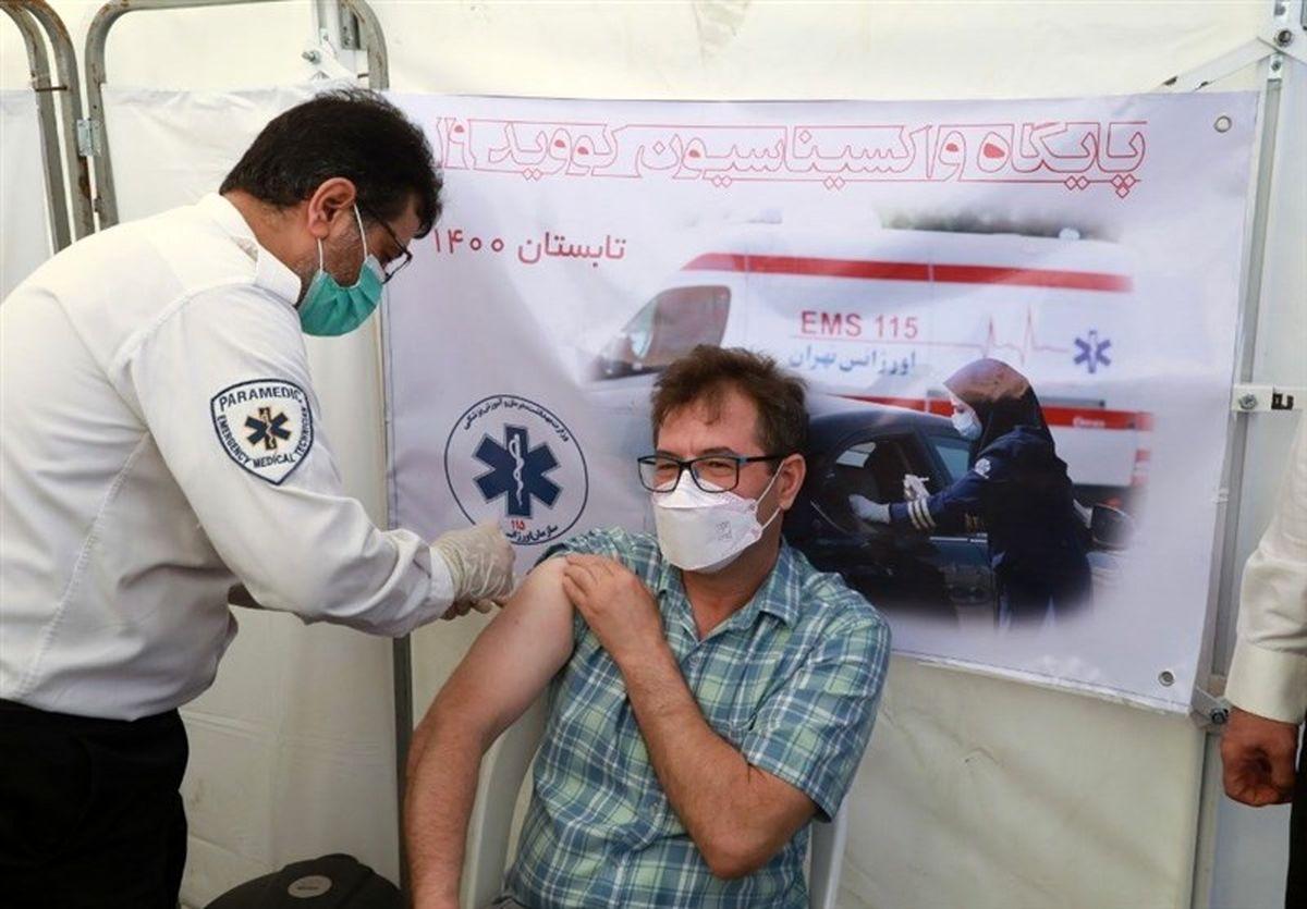 تزریق واکسن کرونا به خبرنگاران آغاز شد + عکس