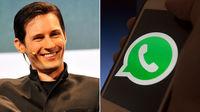 توصیه بنیانگذار تلگرام درباره واتسآپ!