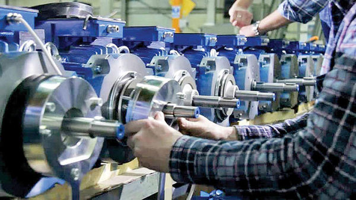 کاهش تولید در کارگاههای بزرگ صنعتی