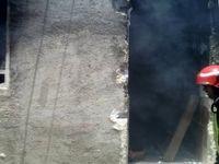 دو منزل مسکونی در گناوه دچار حریق شدند