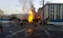 ریزش یک ساختمان دیگر در تهران