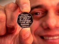رونمایی از طرح سکه برگزیت در انگلیس +عکس