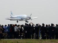 پرواز موفق هواپیمای بدون خلبان چینیها +عکس