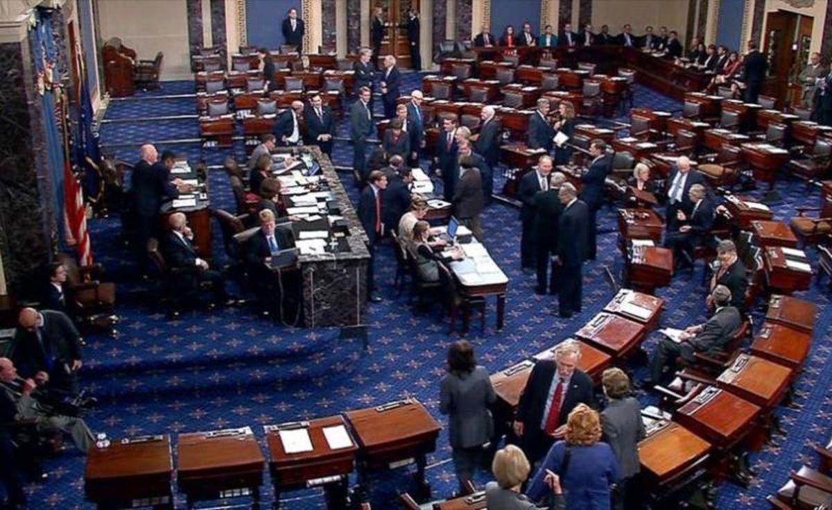 اختلاف در سنا درباره دادگاه استیضاح ترامپ