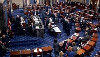سنای آمریکا برای بازگشایی دولت فدرال رای گیری میکند