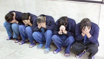 دستگیری ۲۴نفر از عاملان سرقتهای مسلحانه