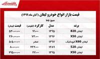 قیمت انواع لیفان در بازار پایتخت +جدول
