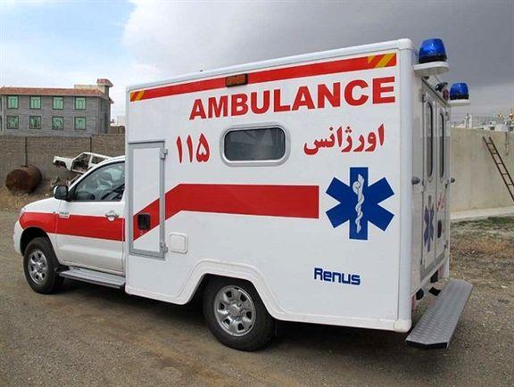 توقیف آمبولانس اورژانس در حال انتقال نوزاد بدحال!