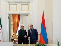دیدار روحانی با نخست وزیر ارمنستان +عکس