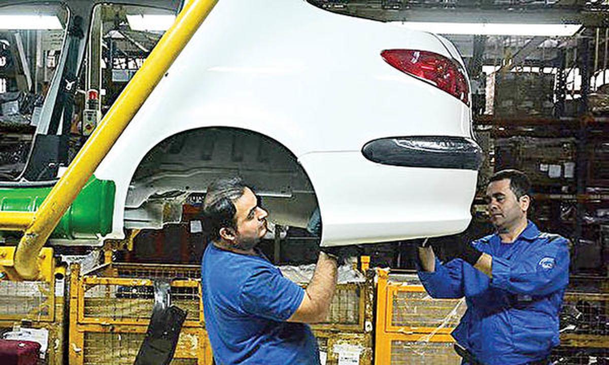 موتور رشد تولید خودرو در فروردین