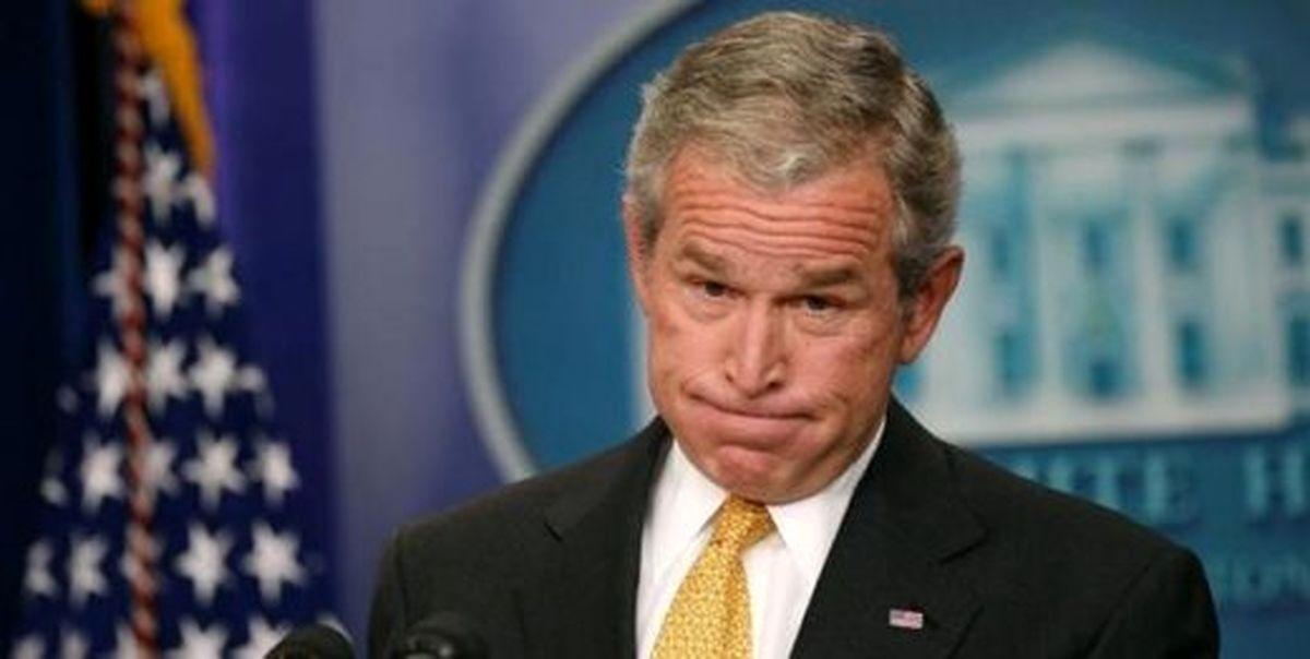 جورج بوش: نگرانم که بی عدالتی آمریکا را خفه کند