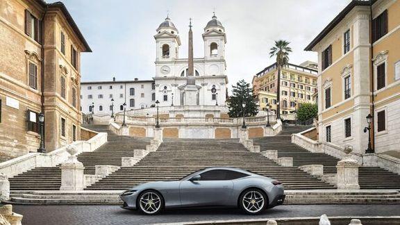 تصاویری از خودرو جدید فراری روما