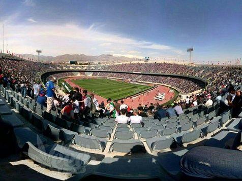 ایراد AFC به شمارهگذاری صندلیهای ورزشگاه آزادی