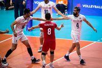 صعود والیبال ایران به دور نهایی لیگ ملتها