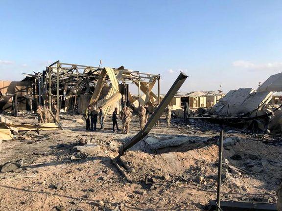 حمله ایران به عین الاسد دهها مجروح برجای گذاشته است