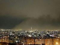 وقوع ۴٠حادثه مرتبط با درختان در پی طوفان تهران