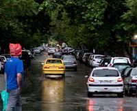 بارش باران بهاری در تهران + عکس