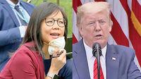 مجادله ترامپ با خبرنگار آسیاییتبار