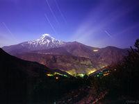 تابش نور ستارگان بر آسمان ایران! +تصاویر