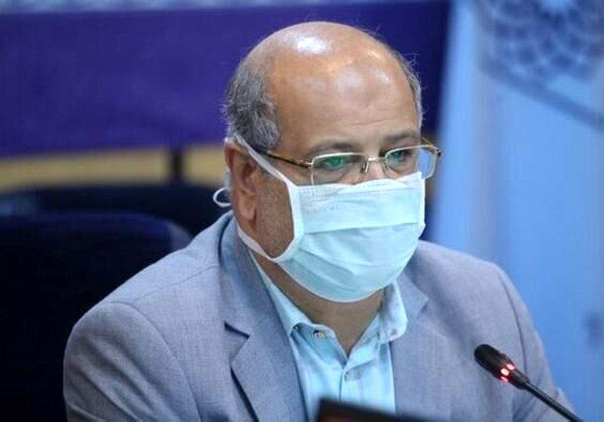 ٢٨۴نفر به علت کرونا در مراکز درمانی تهران بستری شدند