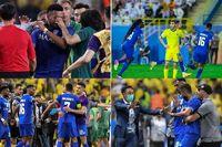 درگیری شدید بازیکنان النصر و الهلال + ویدیو