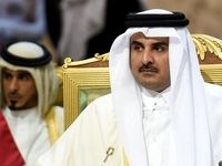 پیام تبریک امیر قطر به مناسبت پیروزی مجدد روحانی