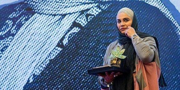 """یک ایرانی """"زن برتر جهان اسلام"""" شد +عکس"""